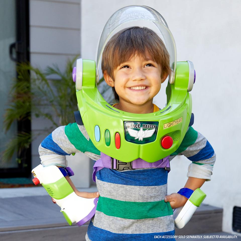 """<p>Kids ages 4 and up can go to infinity and beyond thanks to this <a href=""""https://www.popsugar.com/buy/Disney-Pixar%20Toy%20Story%20Buzz%20Lightyear%20Space%20Ranger%20Armor%20With%20Jet%20Pack-454482?p_name=Disney-Pixar%20Toy%20Story%20Buzz%20Lightyear%20Space%20Ranger%20Armor%20With%20Jet%20Pack&retailer=walmart.com&price=50&evar1=moms%3Aus&evar9=45804853&evar98=https%3A%2F%2Fwww.popsugar.com%2Ffamily%2Fphoto-gallery%2F45804853%2Fimage%2F45805121%2FDisney-Pixar-Toy-Story-Buzz-Lightyear-Space-Ranger-Armor-Jet-Pack&list1=toys%2Ctoy%20fair%2Ckids%20toys%2Cbest%20of%202019&prop13=api&pdata=1"""" rel=""""nofollow"""" data-shoppable-link=""""1"""" target=""""_blank"""" class=""""ga-track"""" data-ga-category=""""Related"""" data-ga-label=""""https://www.walmart.com/ip/Disney-Pixar-Toy-Story-Buzz-Lightyear-Space-Ranger-Armor-with-Jet-Pack/815355978"""" data-ga-action=""""In-Line Links"""">Disney-Pixar Toy Story Buzz Lightyear Space Ranger Armor With Jet Pack</a> ($50).</p>"""