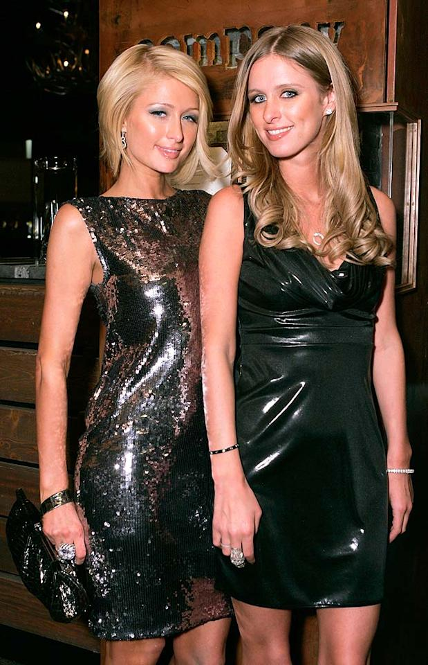 "While Paris Hilton's claim to fame is a sex tape and reality show, sister Nicky made a name for herself designing clothes, bags, and hotels. Chris Weeks/<a href=""http://www.wireimage.com"" target=""new"">WireImage.com</a> - December 29, 2007"