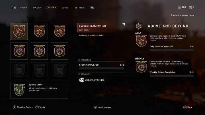 Call of Duty: WW2 Advanced Multiplayer Guide -- Keep checking your orders
