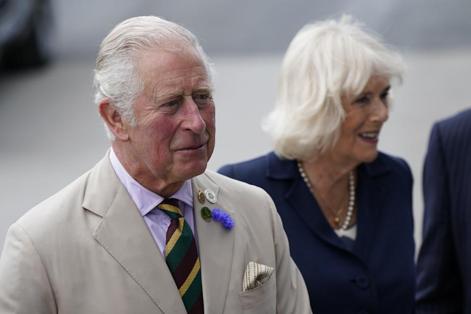 The Prince of Wales and Duchess of Cornwall are visiting Exeter (PA) (PA Wire)