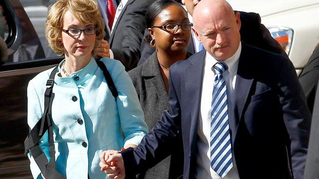 Gabrielle Giffords Confronts Her Shooter