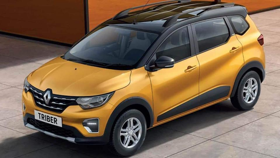 2021 Renault TRIBER launched in India at Rs. 5.3 lakh
