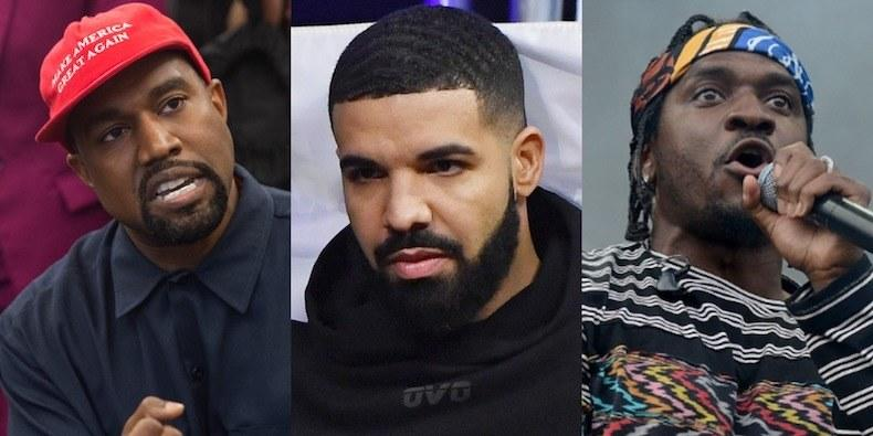 Drake Opens Up About His Feuds With Pusha-T and Kanye
