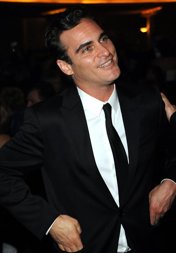 "October 28: Joaquin Phoenix turns 36 Jeff Kravitz/<a href=""http://www.filmmagic.com/"" target=""new"">FilmMagic.com</a> - September 25, 2010"