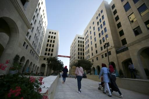 New Palestinian city rises with sleek homes, boutiques