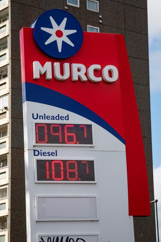The price of petrol at a filling station in Birmingham stands at 96.7 pence per litre (Jacob King/PA)
