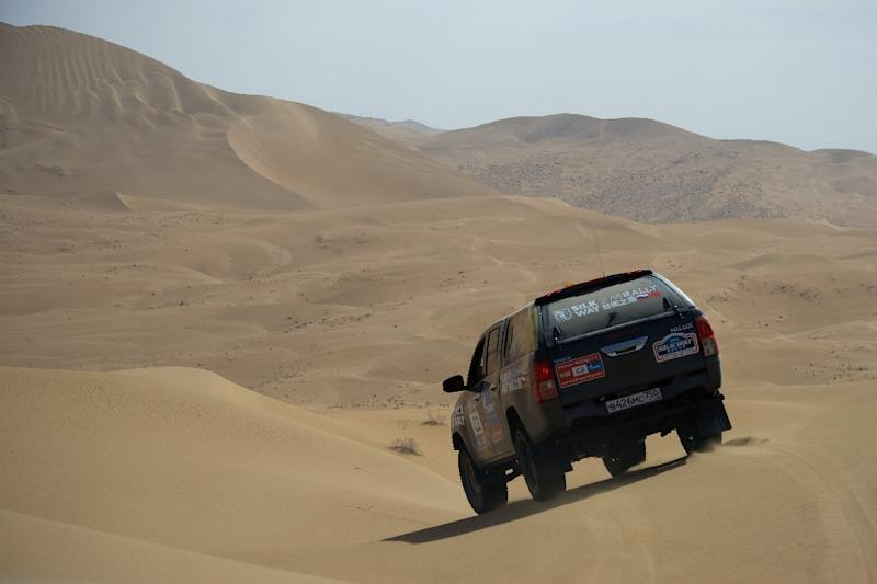 After a first stage in China, the 2017 Silk Way Rally moves into the Gobi desert
