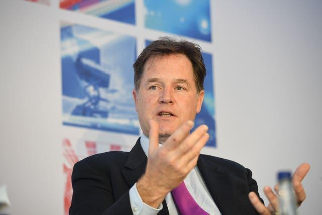 Former Deputy Prime Minister Nick Clegg is now a senior executive at Facebook