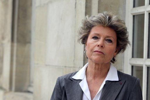 File photo of Socialist county councillor of Haute-Normandie Anne Mansouret, mother of French writer Tristane Banon who is to make a complaint alleging Dominique Strauss-Kahn sexually assaulted her in 2002. Mansouret, confirmed to the news website Rue89 that she had advised her daughter at the time not to make a formal complaint for fear of hurting her career in journalism