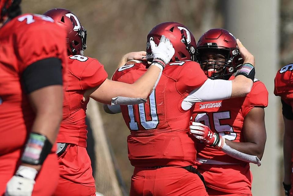 Davidson has played in the postseason only twice in its football history. The first time came in 1969 in the Tangerine Bowl; the second time will be in the FCS playoffs later this month.