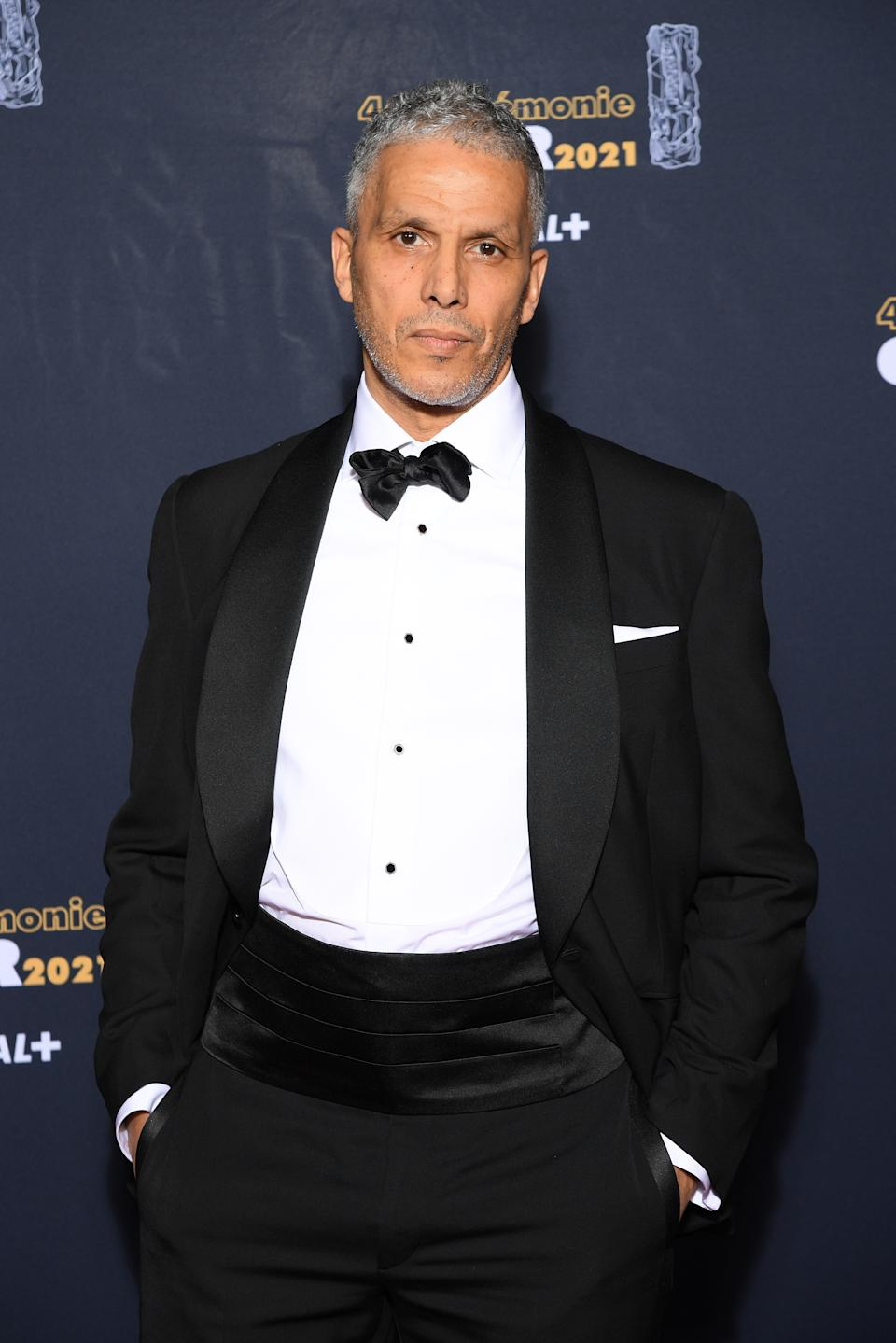 <p>Sami Bouajila était l'incarnation de l'élégance en smoking noir et noeud papillon. (Photo by Pascal Le Segretain/Getty Images)</p>