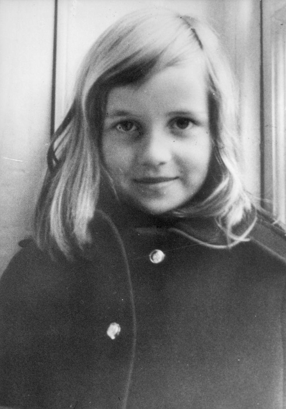 "<p>Diana, pictured circa 1965. Her brother, Charles, <a href=""https://www.biography.com/people/princess-diana-9273782"" rel=""nofollow noopener"" target=""_blank"" data-ylk=""slk:would later say"" class=""link rapid-noclick-resp"">would later say</a> she started exhibiting a spirit of giving and ""fighting for good causes"" at a young age. </p>"