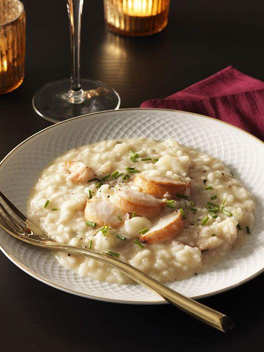 """<p>This creamy rice dish gets even more luxe when you add some lobster tail.</p><p>Get the recipe from <a href=""""https://www.delish.com/cooking/recipe-ideas/recipes/a31378/brown-butter-risotto-lobster-recipe-rbk0211/"""" rel=""""nofollow noopener"""" target=""""_blank"""" data-ylk=""""slk:Delish"""" class=""""link rapid-noclick-resp"""">Delish</a>. </p>"""