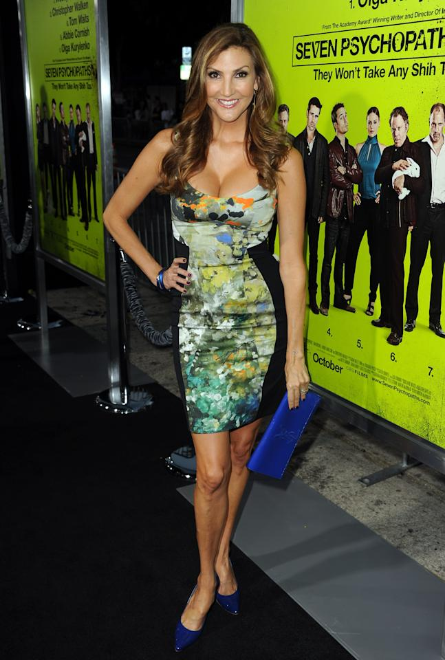"WESTWOOD, CA - OCTOBER 01:  Actress Heather McDonald arrives at the premiere of CBS Films' ""Seven Psychopaths"" at Mann Bruin Theatre on October 1, 2012 in Westwood, California.  (Photo by Kevin Winter/Getty Images)"