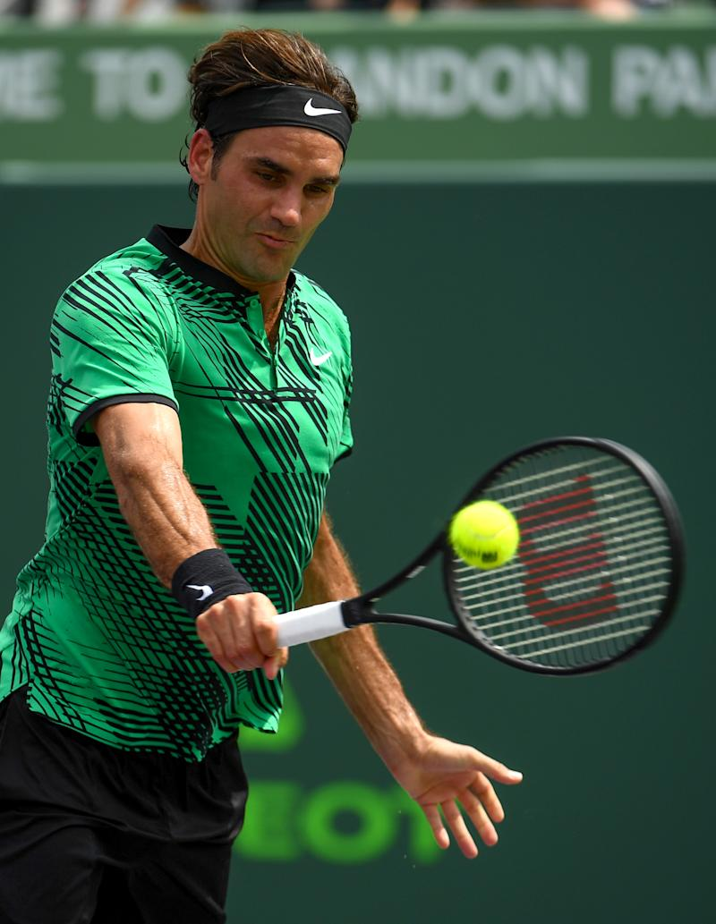 Tennis - Federer downs Nadal to win Miami Open