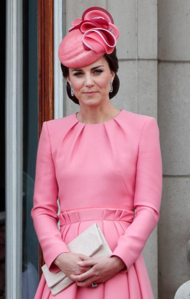 Kate Middleton na parada anual Trooping the Colour em 2017 (Foto: Max Mumby/Indigo/Getty Images)