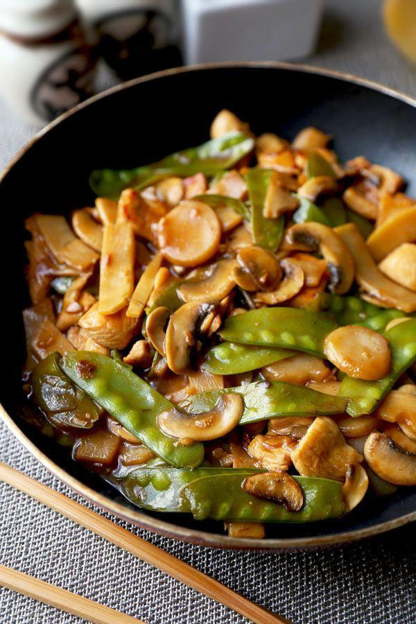 """<p>This Chinese chicken and vegetable stir-fry is about to steal your heart from pad thai.</p><p>Get the recipe from <a href=""""http://www.pickledplum.com/moo-goo-gai-pan-recipe/"""" rel=""""nofollow noopener"""" target=""""_blank"""" data-ylk=""""slk:Pickled Plum"""" class=""""link rapid-noclick-resp"""">Pickled Plum</a>.</p>"""