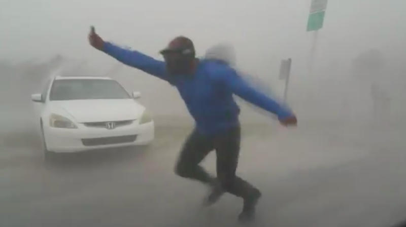 Why Reporters Are Risking Life-Threatening Winds And Floods To Cover Irma