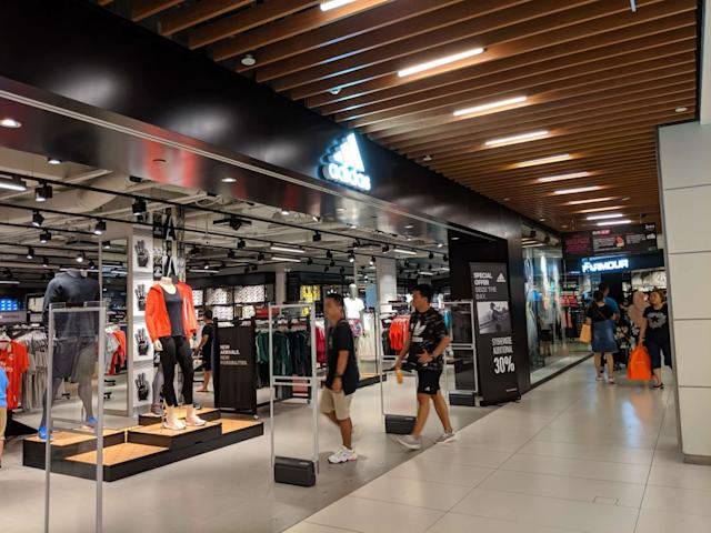 Ground level Puma outlet Picture of IMM