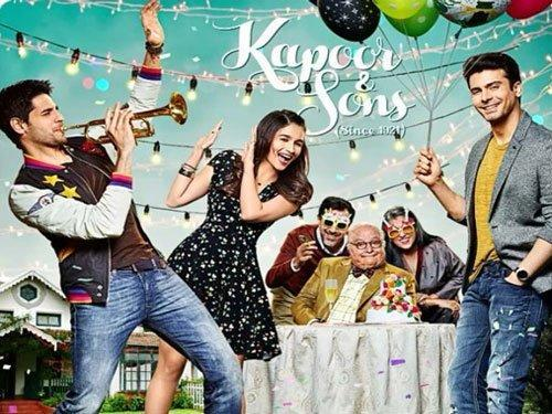 Official poster of the film, Kapoor & Sons (Since 1921)