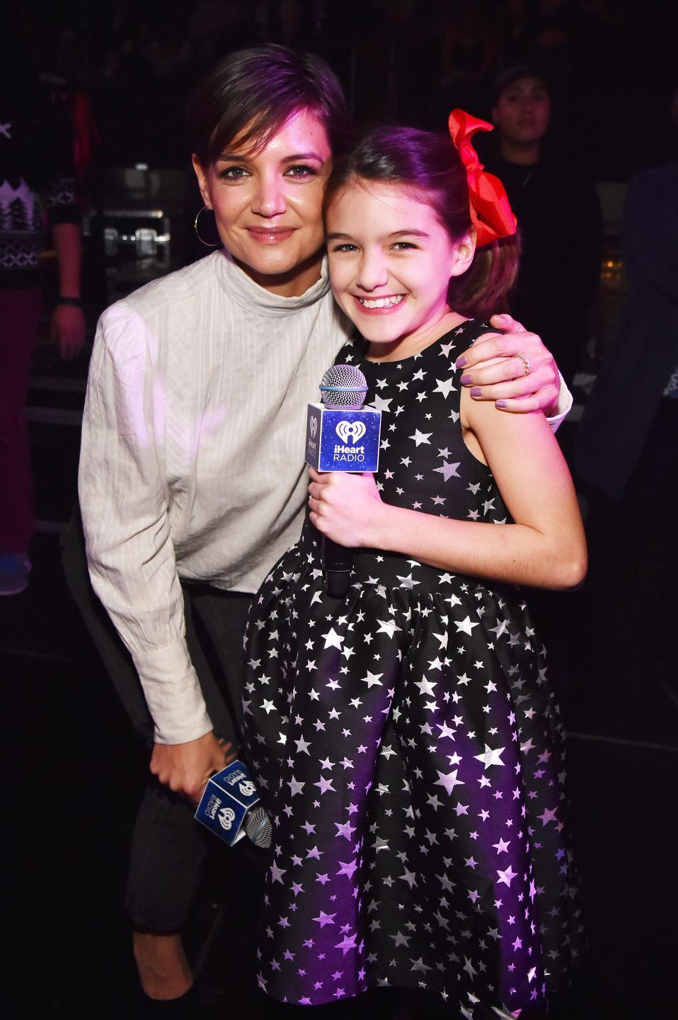<p>Katie Holmes and Tom Cruise's only child together, Suri Cruise, looks like her mom's mini-me. Now 14 years old, Suri is the spitting image of the actress—sharing the same smile and facial features. <br></p>
