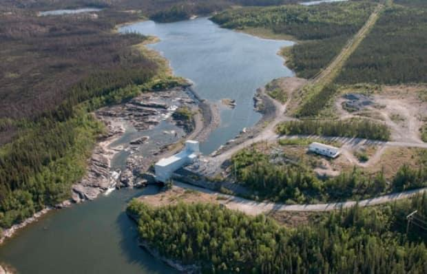 An aerial photo of the Snare Hydro System. MLA Kevin O'Reilly questioned the need to spend millions on a sole transmission line to Whati, when the money could fund three mini-hydro projects in the region.