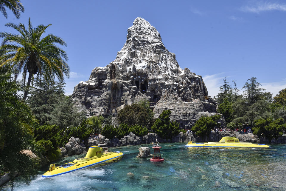 The Matterhorn Bobsleds at Disneyland on Friday, June 15, 2018. (Photo by Jeff Gritchen/Digital First Media/Orange County Register via Getty Images)