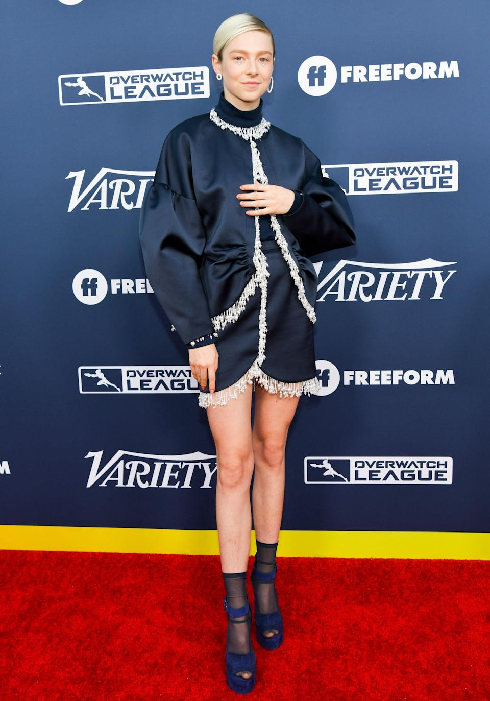 in Christopher Kane at <em>Variety</em>'s Power of Young Hollywood event in Los Angeles, 2019