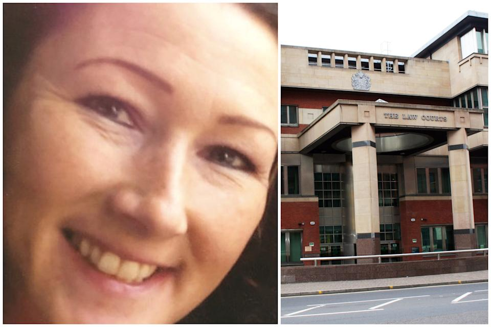 Maria Howarth was found dead on her sofa, jurors at Sheffield Crown Court have bee told. (SWNS/PA)