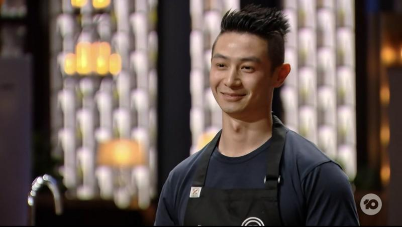 Reynold appears in MasterChef kitchen as fans slam his anti-gay comments