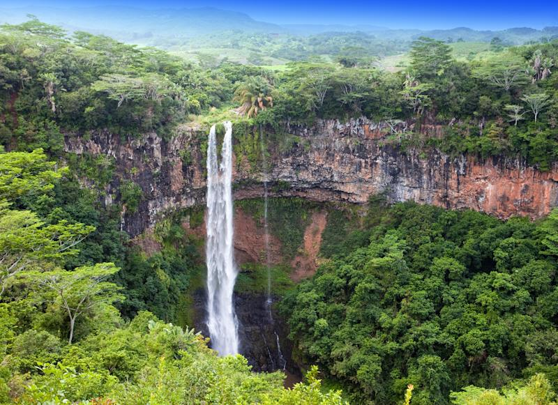 A spectacular waterfall in Mauritius - Credit: Copyright:www.kkulikov.com/Photographer:Olga&Konstantin