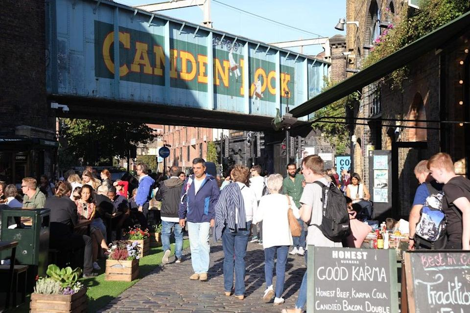 Crowd-pleaser: the new festival will take over two streets in central Camden  (Press Handout)