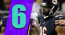 <p>Akiem Hicks has been an excellent defensive end since joining the Bears and has been great again this season even though Khalil Mack gets most of the attention. It would be the right thing to get him to the Pro Bowl this season. (Akiem Hicks) </p>