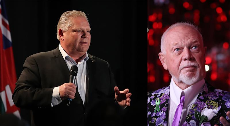 In the least shocking news you may hear all day, the Conservative Premier of Ontario isn't sour about 'Grapes' coming back. (Getty)