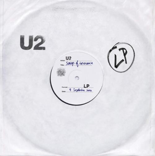 Album cover for U2's Songs of Innocence