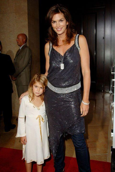 <p>Cindy Crawford's daughter was born on September 3, 2001.</p>