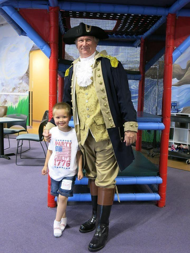 """My son wanted a George Washington-themed birthday party for his 6th birthday"" -- Jennifer Dennis Bindus"
