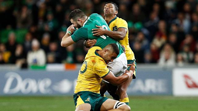 Joe Schmidt has made five alterations to his starting line-up, while Lukhan Tui and Nick Phipps come into the Australia side in Sydney.