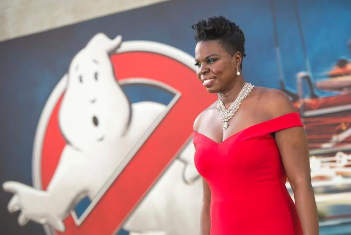 """Leslie Jones attends the Los Angeles Premiere of """"Ghostbusters"""" in Hollywood (AFP Photo/Valerie Macon)"""