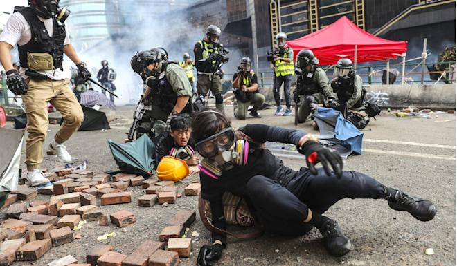 Hong Kong's protest crisis has entered its sixth month. Photo: Sam Tsang