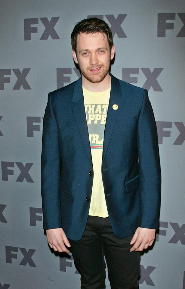 "Michael Arden (""<a href=""http://tv.yahoo.com/anger-management/show/48408"">Anger Management</a>"") attends FX's 2012 Upfronts at Lucky Strike on March 29, 2012 in New York City."