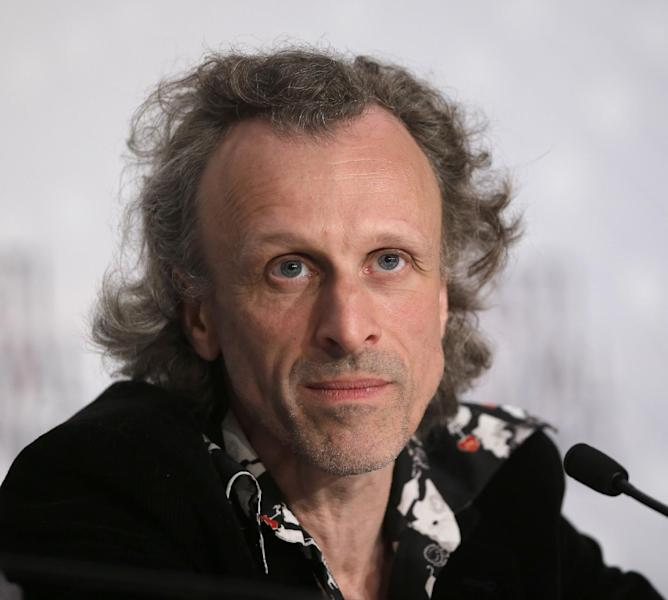 Actor Jan Buvoet listens to questions during a press conference for Borgman at the 66th international film festival, in Cannes, southern France, Sunday, May 19, 2013. (AP Photo/Francois Mori)