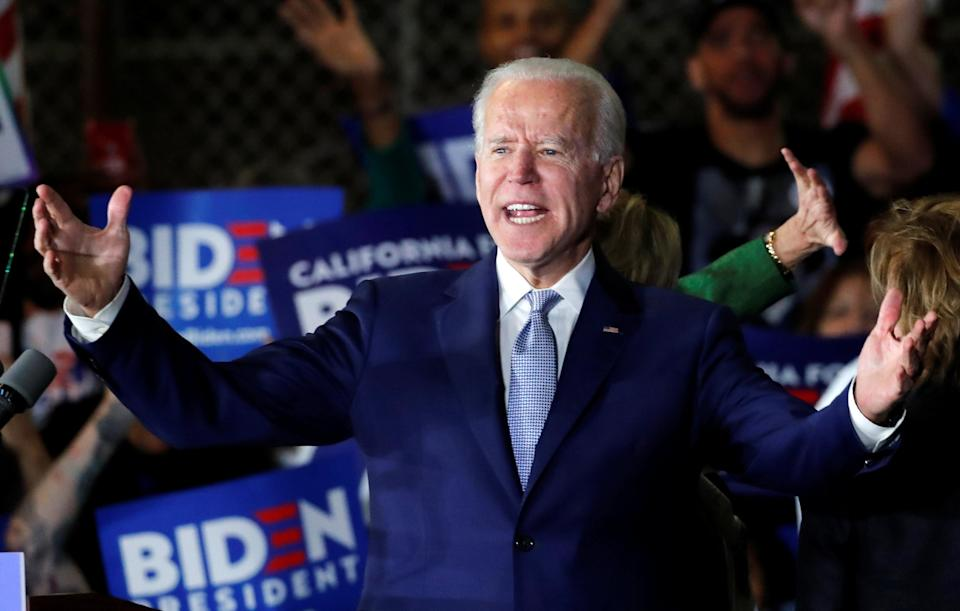 Joe Biden, who has faced an allegation of sexual assault, and whose son has been probed for his business dealings: Reuters