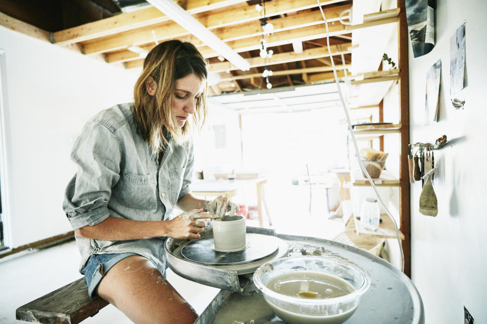 If you're considering monetizing your hobby or turning it into your career, consider how this change will affect the amount of joy you get out of the activity. (Photo: Getty Creative)