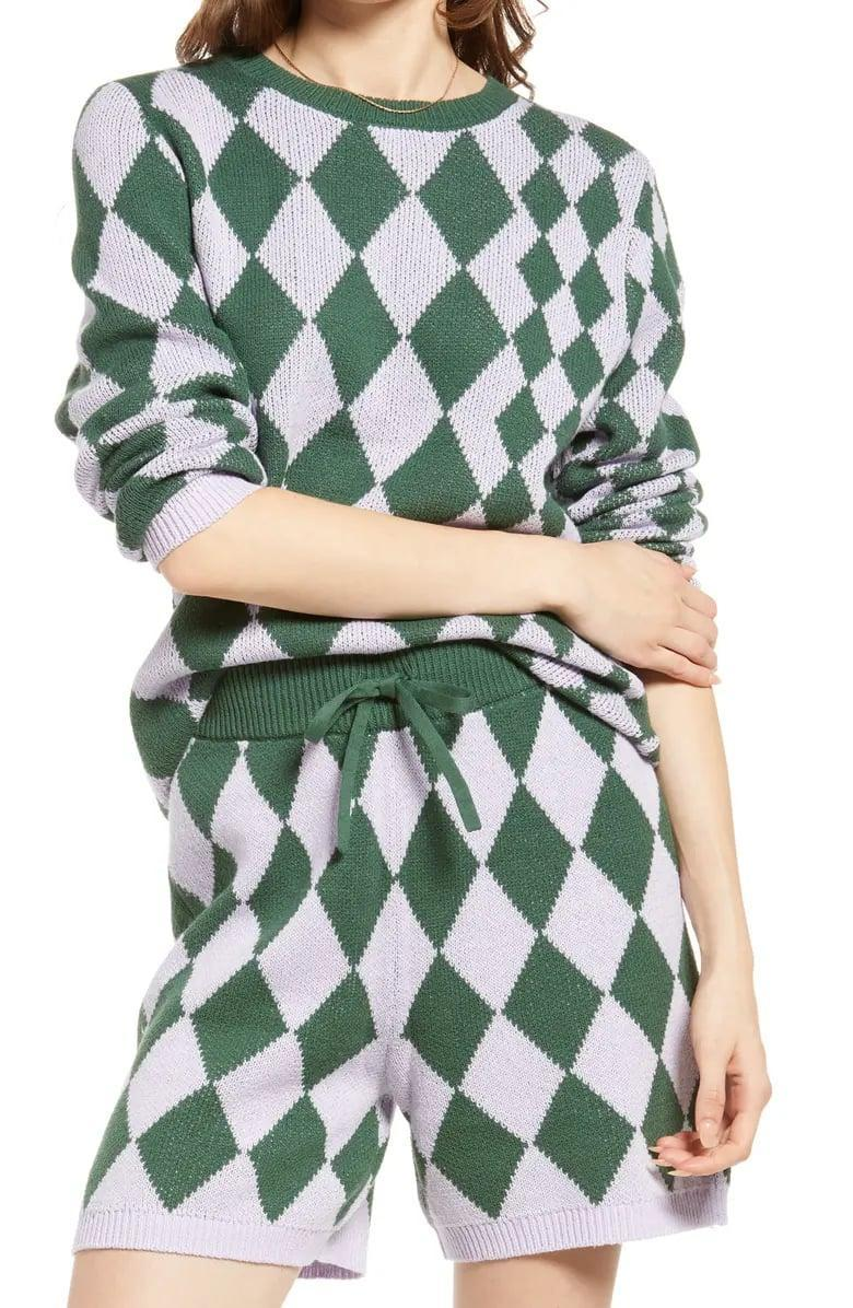 <p>This <span>BP. Be Proud by BP. Gender Inclusive Pride Argyle Sweater</span> ($49) is cute as part of a <span>lounging set</span> but why not also let it shine with jeans, joggers, and more?</p>