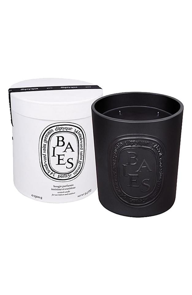 "<p>If you want a really special gift, this <product href=""https://shop.nordstrom.com/s/diptyque-baies-berries-large-scented-candle/3228430/full?origin=coordinating-3228430-0-1-PDP_1.PDP_1_DEFAULT-recbot-visually_similar_type2_no_dresses&amp;recs_placement=PDP_1.PDP_1_DEFAULT&amp;recs_strategy=visually_similar_type2_no_dresses&amp;recs_source=recbot&amp;recs_page_type=product&amp;recs_seed=4686384"" target=""_blank"" class=""ga-track"" data-ga-category=""Related"" data-ga-label=""https://shop.nordstrom.com/s/diptyque-baies-berries-large-scented-candle/3228430/full?origin=coordinating-3228430-0-1-PDP_1.PDP_1_DEFAULT-recbot-visually_similar_type2_no_dresses&amp;recs_placement=PDP_1.PDP_1_DEFAULT&amp;recs_strategy=visually_similar_type2_no_dresses&amp;recs_source=recbot&amp;recs_page_type=product&amp;recs_seed=4686384"" data-ga-action=""In-Line Links"">Diptyque Baies/Berries Large Scented Candle</product> ($325) is it. It's enormous, it can go anywhere, and it will give any room the sweetest scent.</p>"