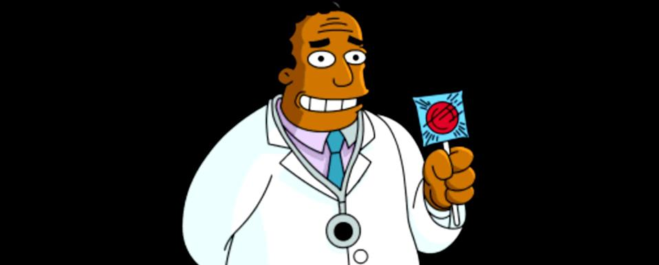 Dr Hibbert from The Simpsons (Credit: Disney)