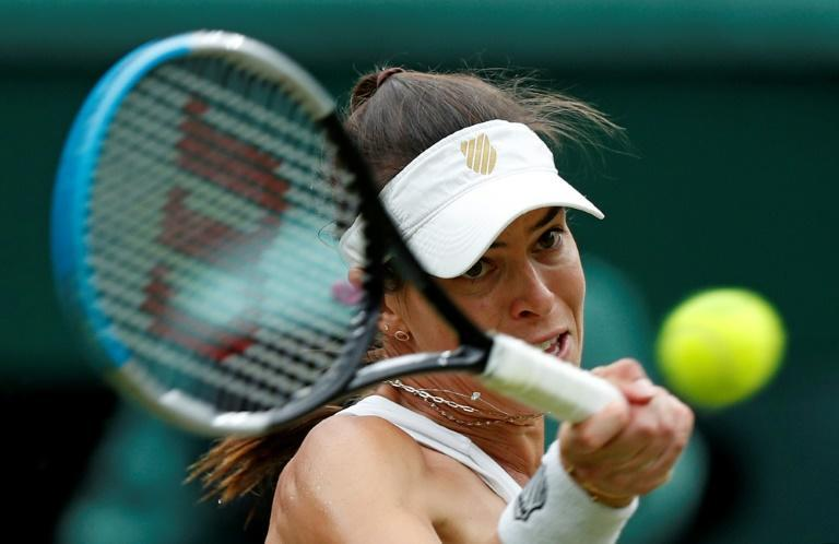 Ajla Tomljanovic admitted the enormity of being in her first Grand Slam quarter-final and on Wimbledon's Centre Court playing world number one Ashleigh Barty got to her
