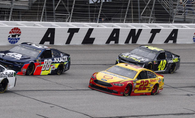 While Axalta is staying with Hendrick Motorsports, Lowe's is leaving after 2018. (AP Photo/John Bazemore)