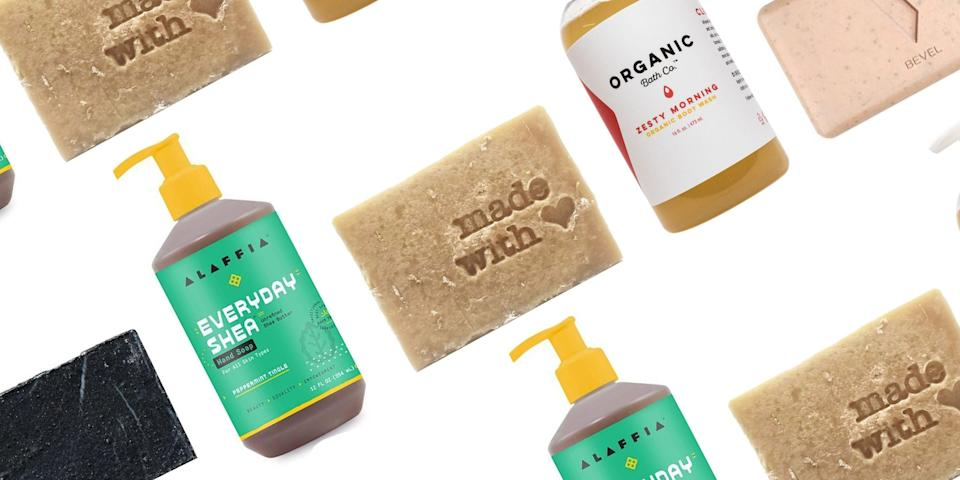 "<p class=""body-dropcap"">It's time to break up with your boring body wash and start investing in soaps that actually make you excited to jump in the shower. How do you find such an inspirational soap, you might ask? Shop from a Black-owned company that specializes in hydrating formulas, spa-worthy fragrance, and naturally sourced ingredients. Don't stop at your shower routine, either; these brands serve up the type of luxe <a href=""https://www.harpersbazaar.com/beauty/skin-care/g33545040/best-hand-soap/"" rel=""nofollow noopener"" target=""_blank"" data-ylk=""slk:hand washes"" class=""link rapid-noclick-resp"">hand washes</a> that take the pain out of lathering up 20 times a day. For great scents and hydrating ingredients, keep on scrolling. </p>"